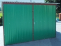 3x5 kolor zielony dwuskrzydłowy