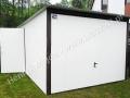Biały 3x6, brama podnoszona kolor RAL 9001
