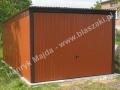 Jasnobrązowy garaż, RAL 8004