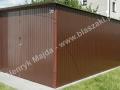 Teflon brązowy 3m x 5m, RAL 8017