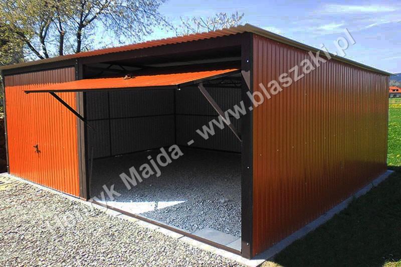 Garaże Dwustanowiskowe Superblaszakipl