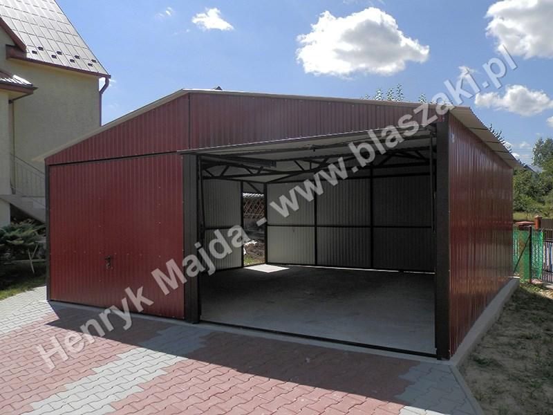 Popularne Obiekty Garaż Blaszany Dwustanowiskowy Goa23 Usafrica