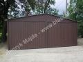 Blaszany garaż 6x6 dwuspad