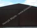 Solidny dwuspad brązowy ral 8017 konstrukcja wzmacniana producent HM