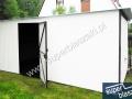 Biały 3x6, front garażu 3x6 RAL 9001