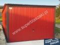 Czerwony blaszak 3x5, konstrukcja wzmacniana