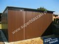 Garaże blaszane 4x6 wzmacniany profil blachy
