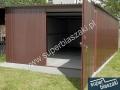 Teflon brązowy 3m x 5m, drzwi otwierane na boki