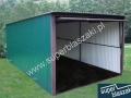 Zielony garaż blaszak ral 6005