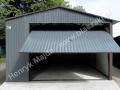 Grafit garaż blaszak 4x6m