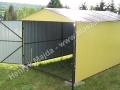 Dwuskrzydłowa brama garaż 3x6 kolor RAL 1002
