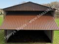 Dwuspadowy garaż 3x5, brama uchylna, HM
