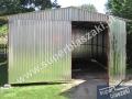 garaz blaszak 3.5x5 dwuspad brama dwuskrzydlowa