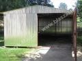 Garaż blaszak 3.5x5, dwuspad - ocynk pierwszy gatunek