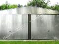 HM - podwójny garaż blaszany 6x5