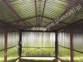 Konstrukcja do 3x5 z bramą uchylną