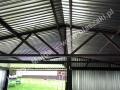 Konstrukcja garażu blaszaka 6x5