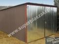 Garaż 2-gi gatunek 3x5, boki kąpane w farbie podkładowej