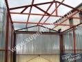 Konstrukcja blaszaka - dwuspadowy dach
