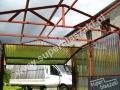 Konstrukcja dachu - kratownica z profilem zamkniętym