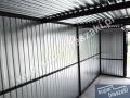 Konstrukcja garażu 4x5-z bramą uchylną