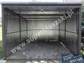 Konstrukcja garażu z bramą uchylną