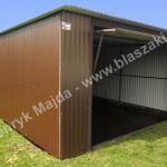 garaże metalowe