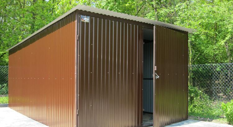 garaze blaszane 3x5 ral 8017