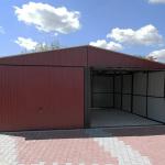 Garaże blaszane Śląsk